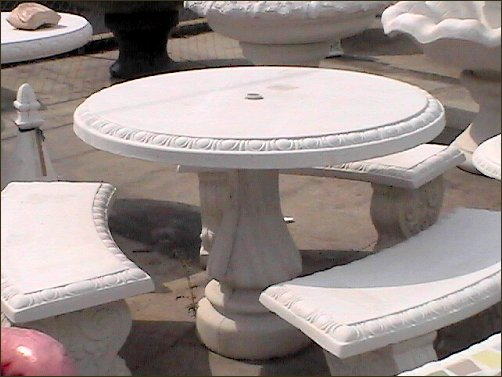 ART-CRETE CONCRETE PRODUCTS, INC - Concrete Patio Furniture